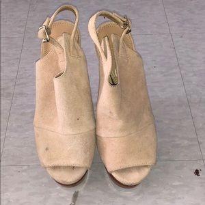 Gently worn Jessica Simpson heels